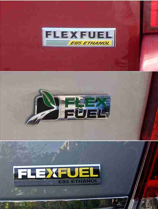 Flex Fuel Vehicles can use up to 85% (E85) ethanol fuel.