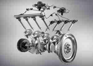 New 5.5-liter AMG V8 engine with AMG Cylinder Management and ECO stop/start.