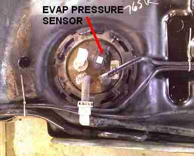 p evaporative emission evap system  small
