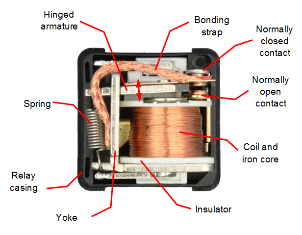 Inside Of Automotive Relay Large on low voltage wiring diagrams