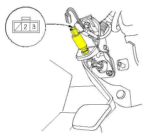 Throttle Position Switch Location