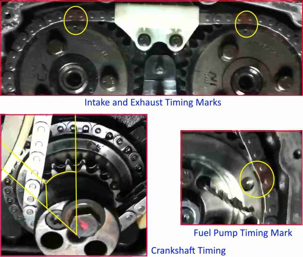 P0149 Fuel Timing Error 2002 Ford Focus Timming Engine Mechanical Problem Transit Marks