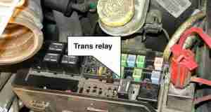 Transmission relay