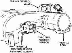 P0122 on camshaft position sensor location 2007 sierra