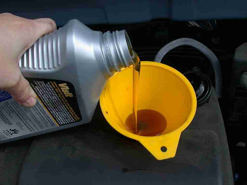 Ensure you're using the right oil for your engine.