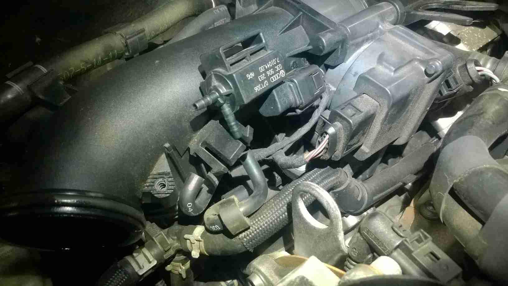 P2015 – Intake manifold air control actuator position sensor