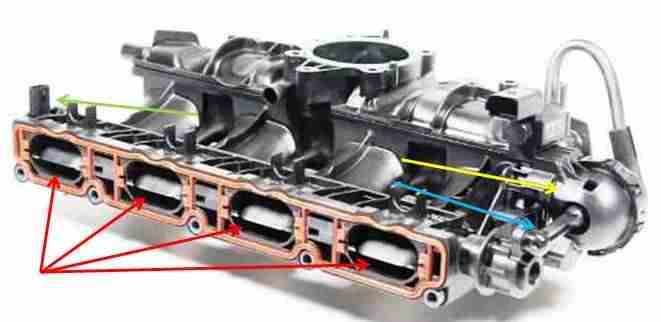 P200A – Intake manifold air control actuator / solenoid, bank 1