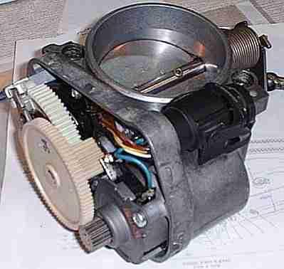 P2119 – Throttle actuator control (TAC), throttle valve