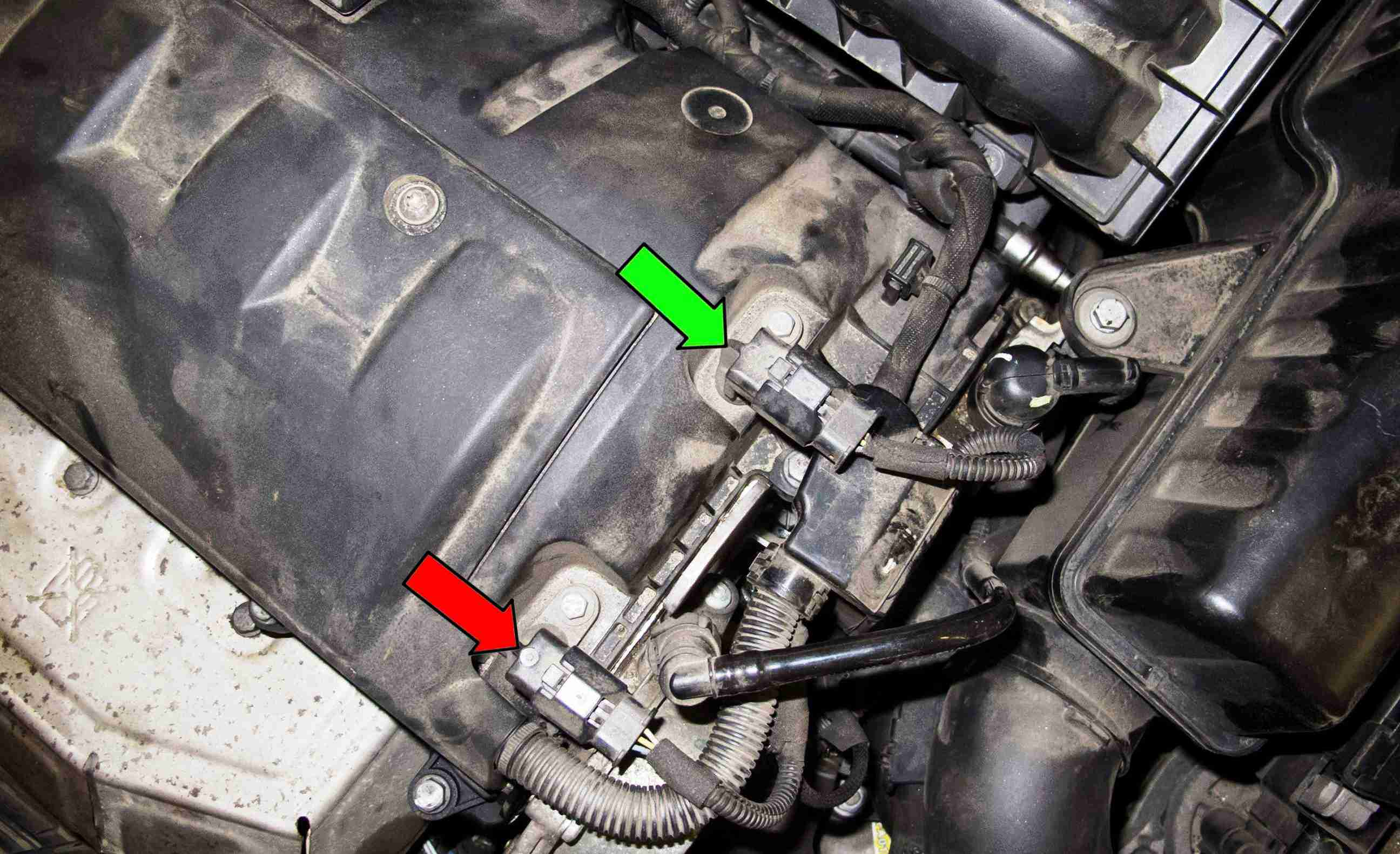Mini Cooper Camshaft Position Sensor Location on Camshaft Position Actuator Bank 1