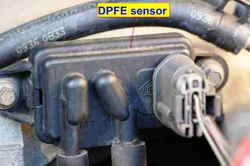 Ford Econoline Wagon E Xlt Engine L furthermore D Surging Idle Low Rpms Dpfe as well D Taurus Dhoc Where Dpfe Sensor Overview besides Carphoto furthermore . on ford dpfe sensor location
