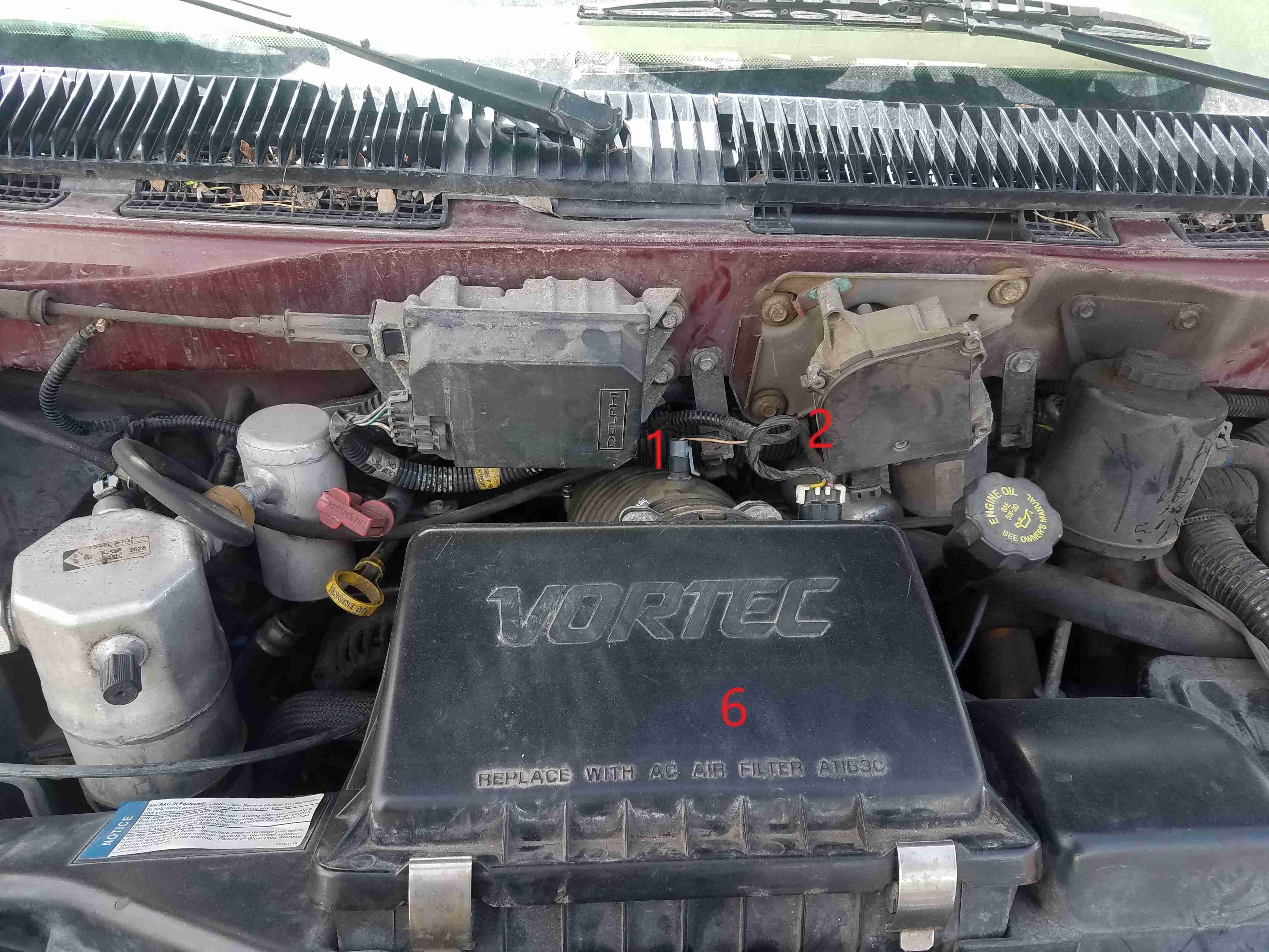 Oldsmobile Engine Coolant