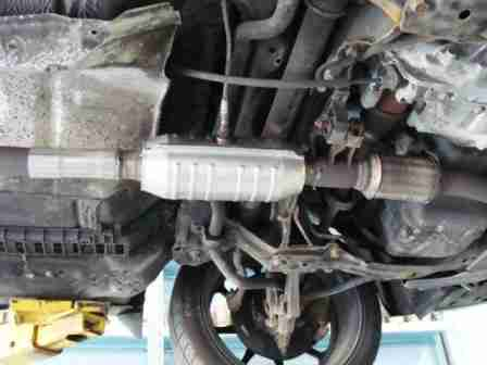 The Image Above Shows Location Center Of Frame Catalytic Converter On A 2001 Honda Accord Model Note Though That Many Late